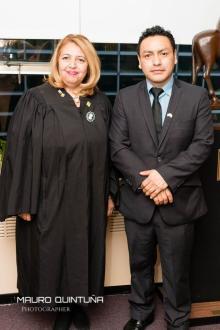 Apoyando a nuestra Hon. Juez de la Corte Suprema de Justicia Carmen R. Velasquez