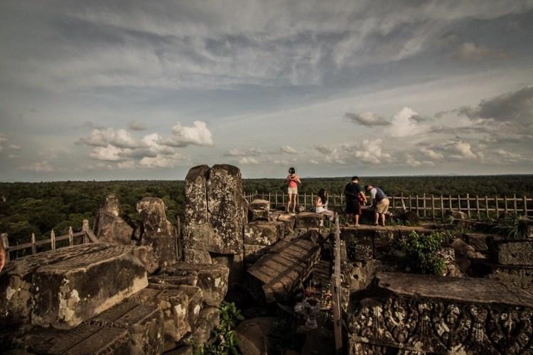 柬埔寨贡开金字塔 - Koh Ker