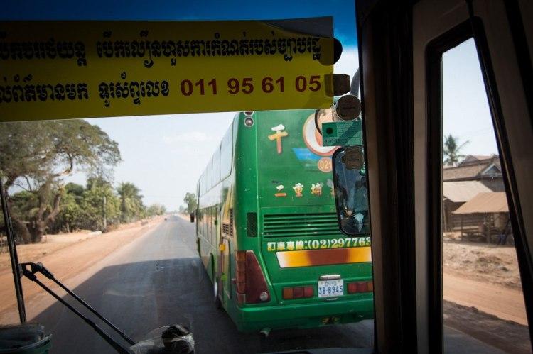 柬埔寨的台灣車
