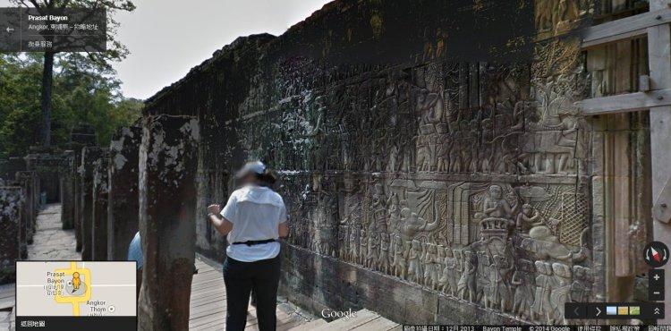 吳哥窟 google 街景