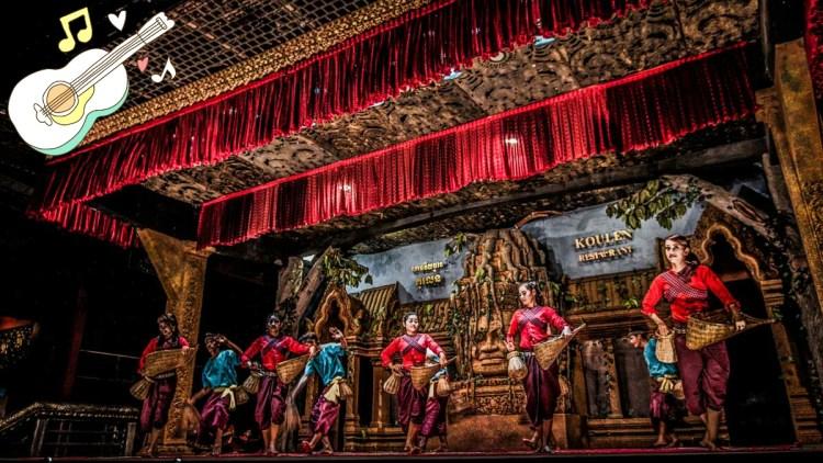 柬埔寨傳統舞蹈