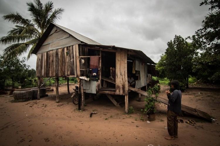 柬埔寨村落