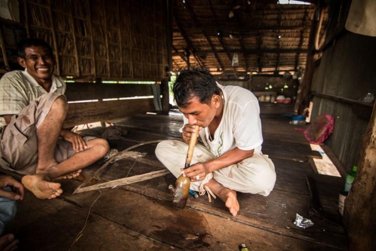 柬埔寨村大麻