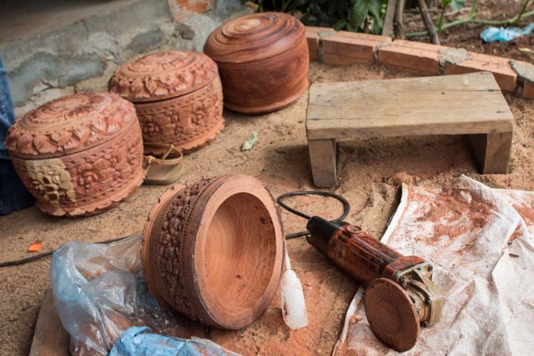 柬埔寨木雕