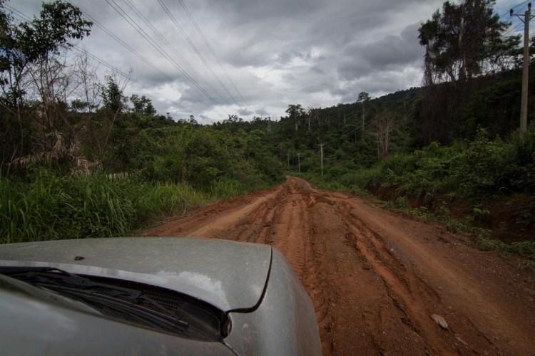 柬埔寨山路