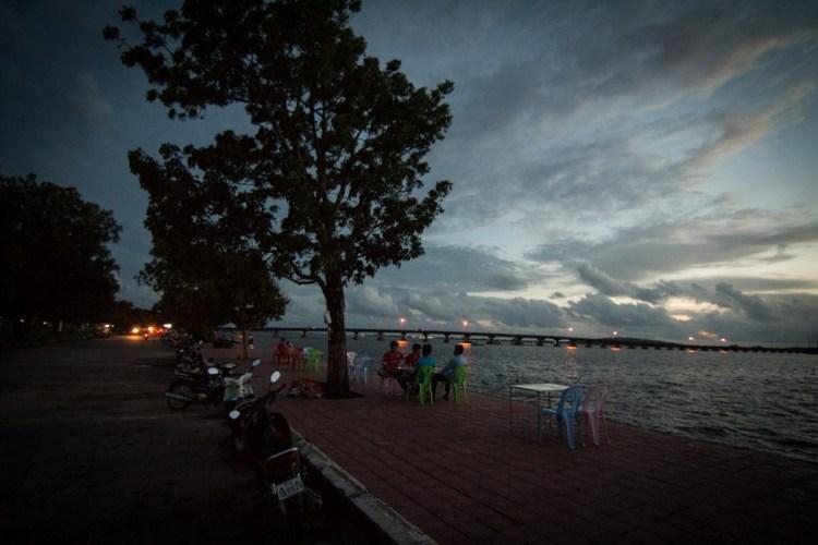 戈公海濱夕陽