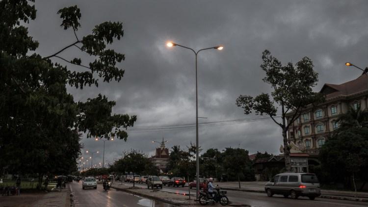 吳哥窟雨季