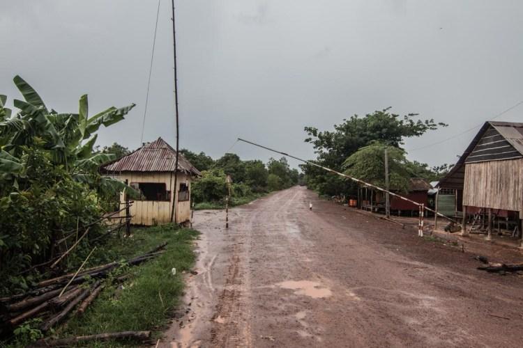 柬埔寨與越南邊境