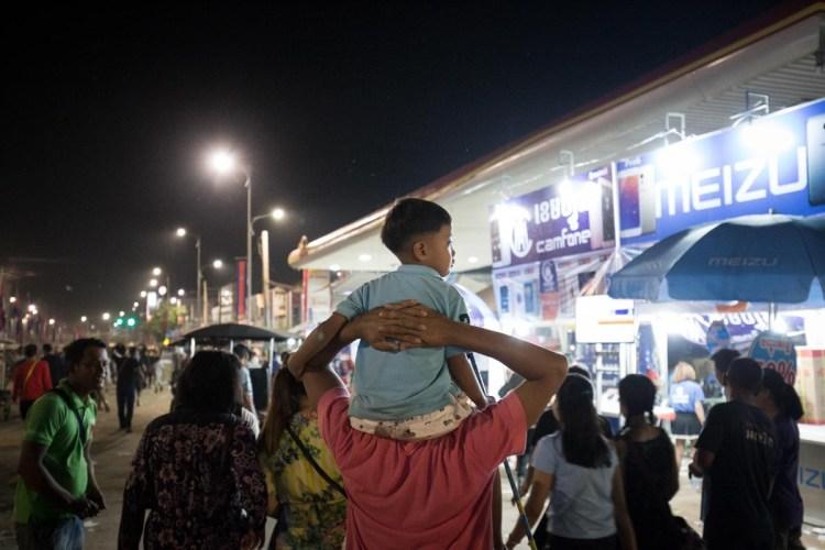 柬埔寨送水节