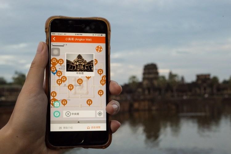 吴哥窟语音导览 App