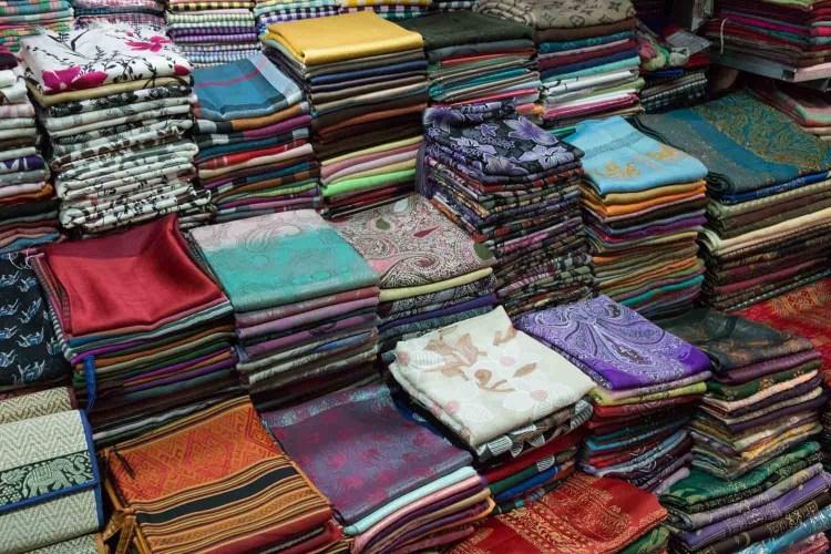 柬埔寨丝织品