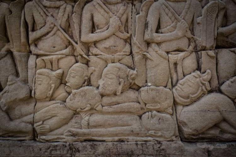战死的中国、高棉与占婆人