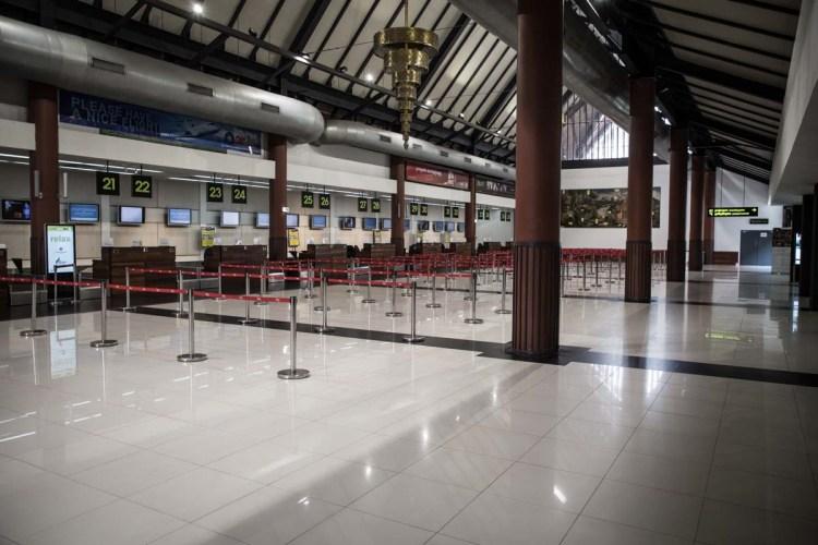 柬埔寨新冠肺炎特别报导 - 暹粒机场