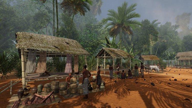 吳哥 13 世紀時的市集