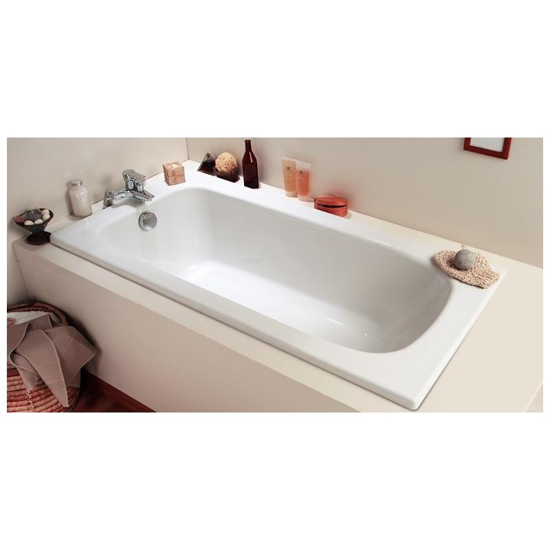 baignoire rectangulaire flavis 120 x 70 cm allibert mr bricolage