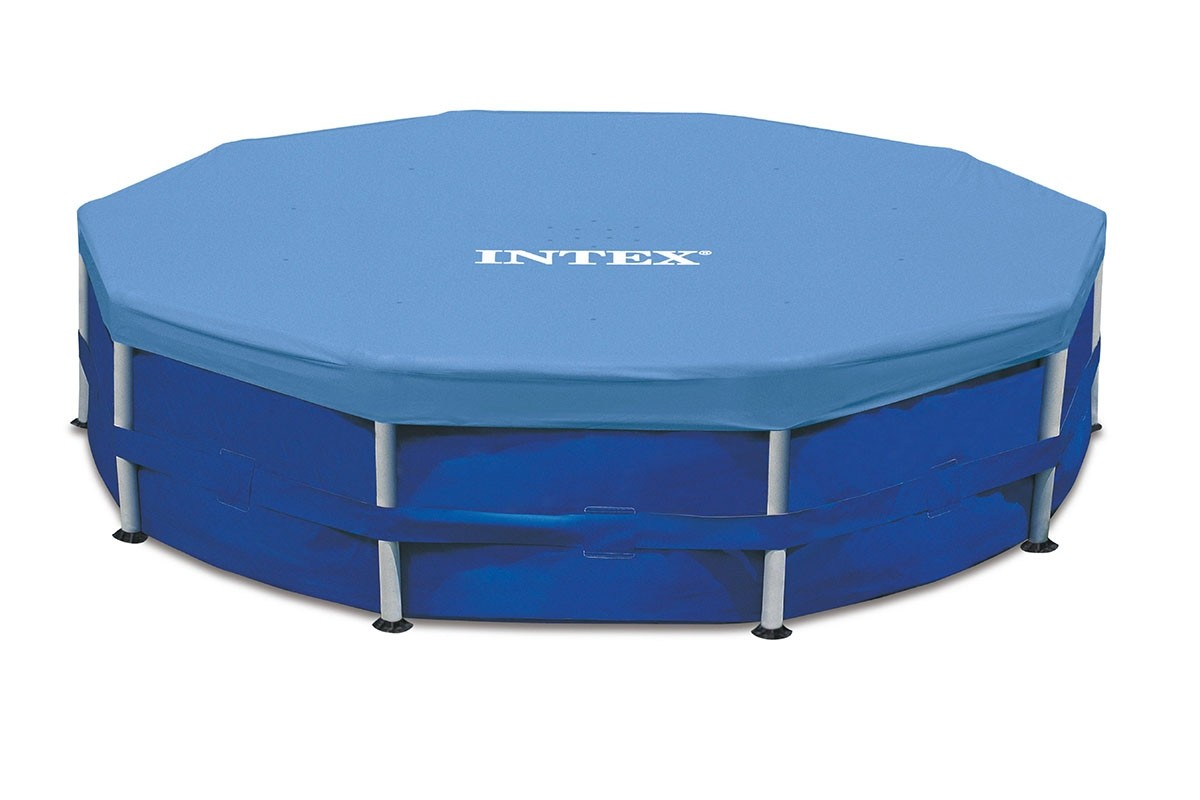 bache de protection pour piscine tubulaire ronde intex mr bricolage