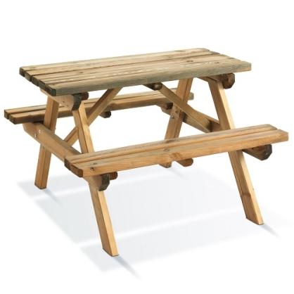 table pique nique pour enfants 90 x 90 cm mr bricolage