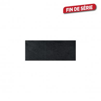 carrelage mural noir smart 50 x 20 cm 15 pieces mr bricolage