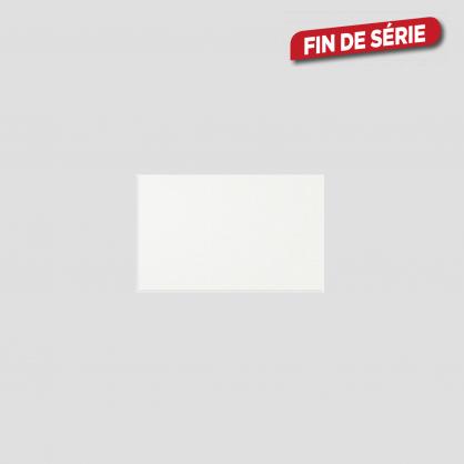 carrelage blanc brillant 40 x 25 cm 14 pieces mr bricolage
