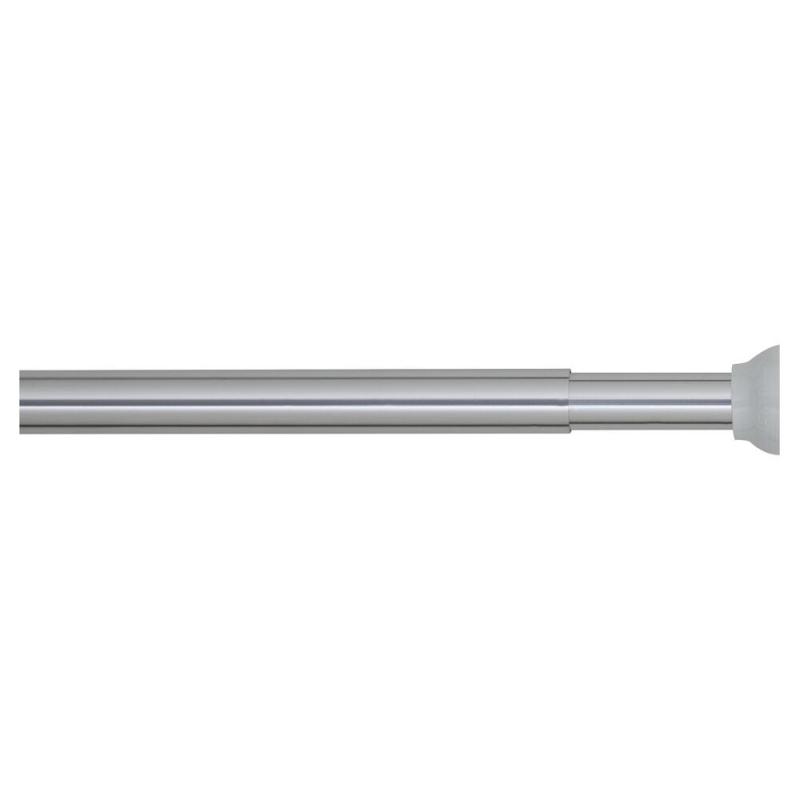 barre de rideau de douche extensible 70 115 cm chrome sealskin mr bricolage