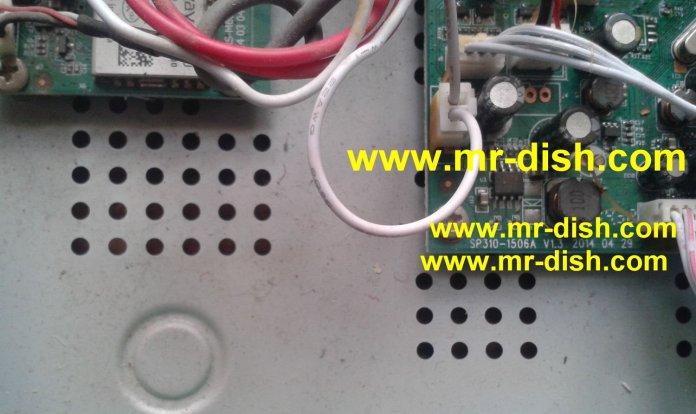 Sp310 1506A BOARD TYPE HD Receiver New Autoroll Powervu Software