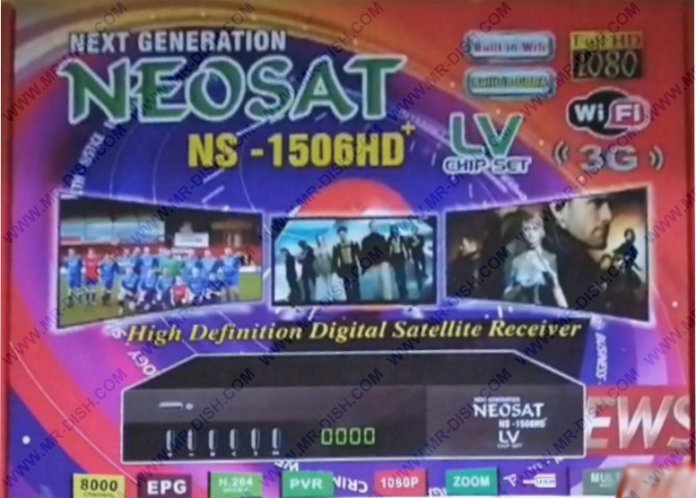 NEOSAT NS-1506HD LV SOFTWARE WITH XTREAM IPTV