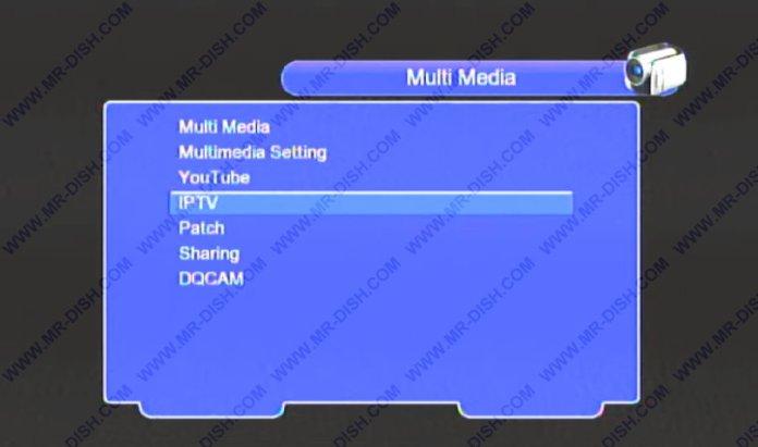 1506TV Patch menu