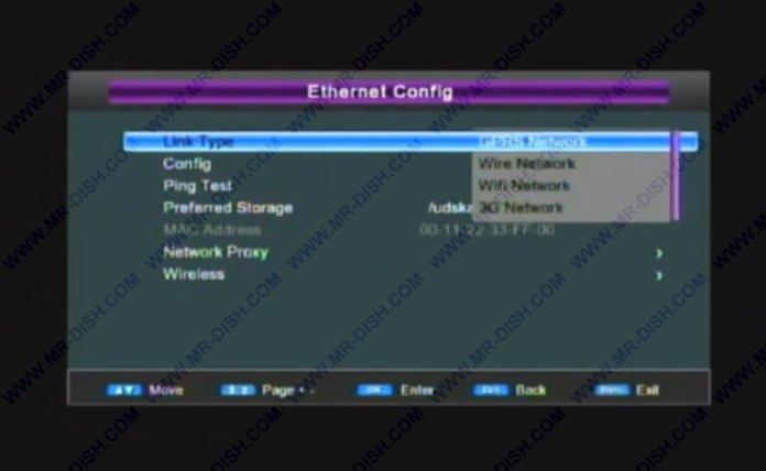 Protocol Ethernet Config