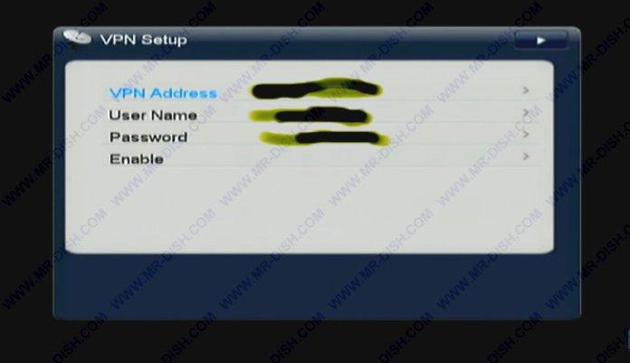 تمكين ، عنوان VPN