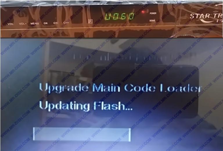 1506G DEAD RECEIVER Updating