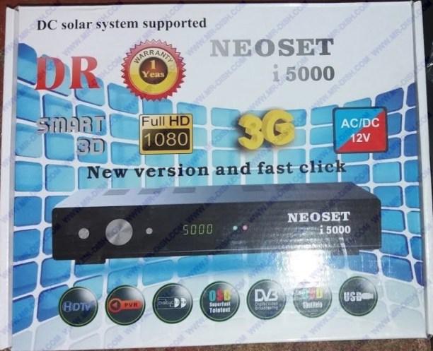 NEOSET i5000 EXTREME NEW SOFTWARE WITH ALFA PRO
