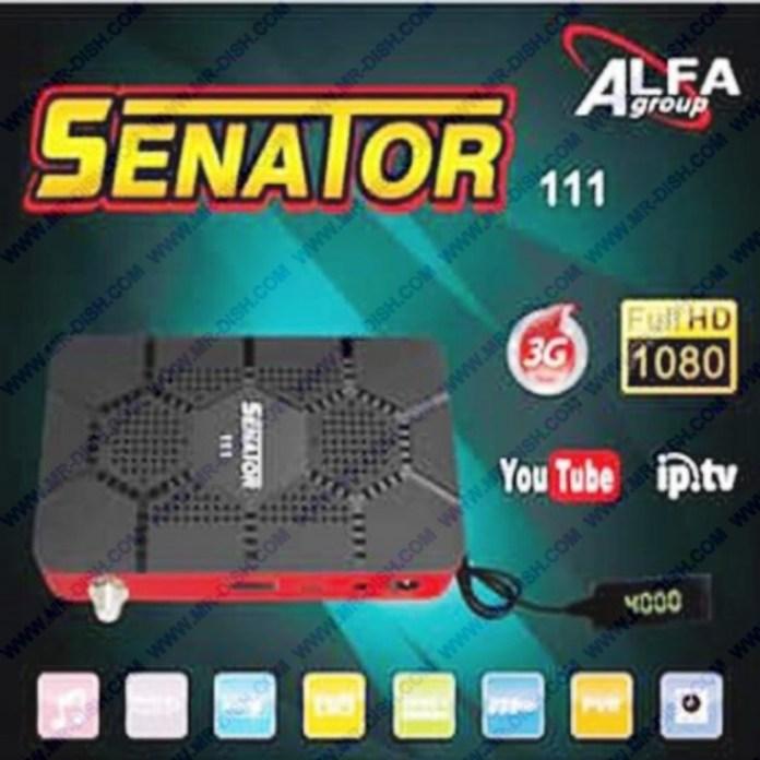 SENATOR 111 1506T 4M NEW SOFTWARE WITH XTREAM IPTV