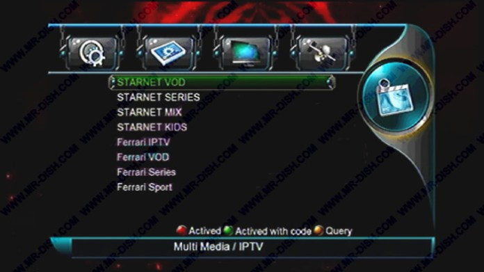 STARNET 999 MULTIMEDIA 1506TV SCB4 IPTV