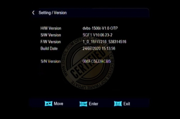 LEG N24 PRO SGF1 Software Update Info