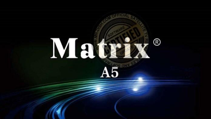 MATRIX ASH A5 1506TV RECEIVER NEW SOFTWARE