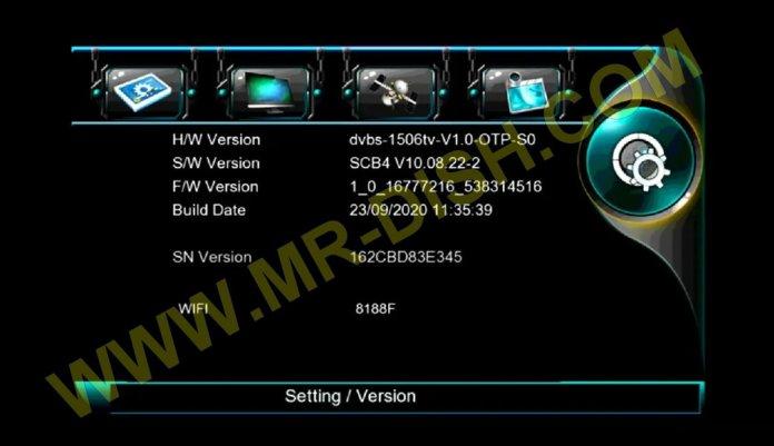 NEOSAT NS-1506HD New Software Version