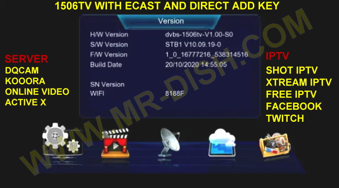 DRAKE 2000W 1506TV SOFTWARE WITH ACTIVE X