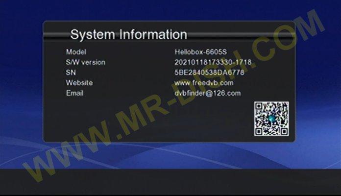 HELLOBOX GX6605S HW203 DLAN SAT2IP SOFTWARE