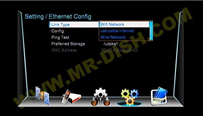 SAT INTEGRAL SP-1219HD 1506TV 8MB Network Option