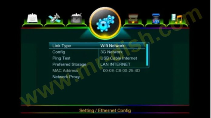 VISION PREMIUM II 1507G 8M Internet Connections