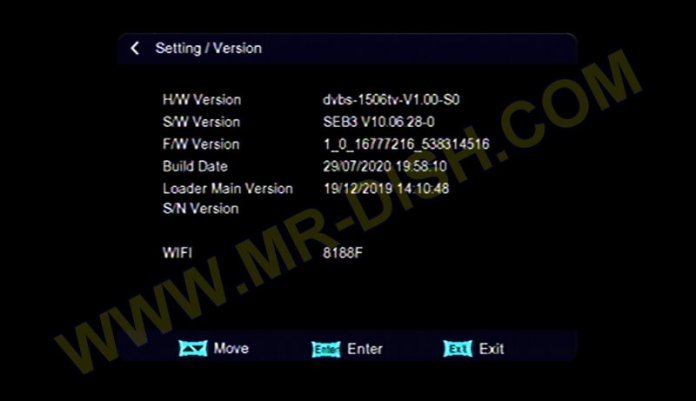 BLUE STAR 9900 X7 1506TV 8MB SEB3 NEW SOFTWARE VERSION INFORMATION