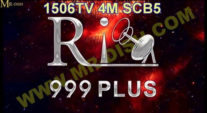RIO 999 PLUS 1506TV SCB5 SOFTWARE V10.05.07