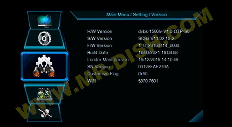 NEOSAT N7000 1506LV 8M NEW SOFTWARE Version Info