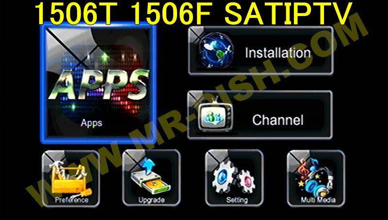 1506T 1506F 4M SEB3 SAT2 IPTV NEW SOFTWARE