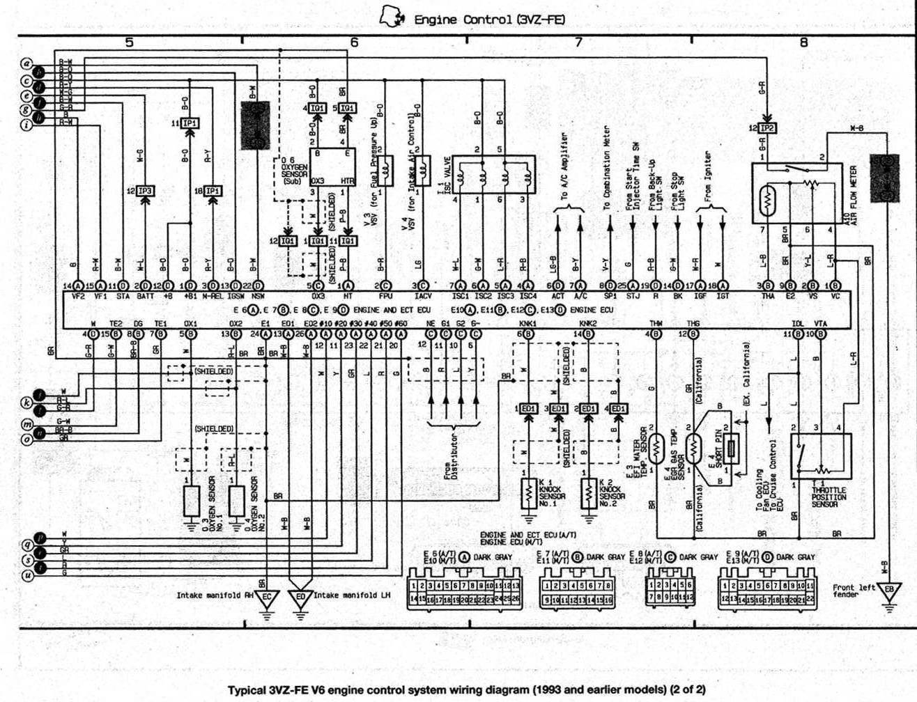 85 Toyota Mr2 Wiring Diagram
