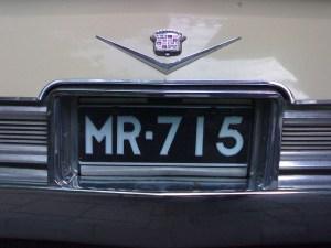 715 License Plate