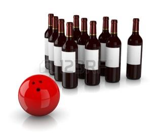 Wine-Bowling