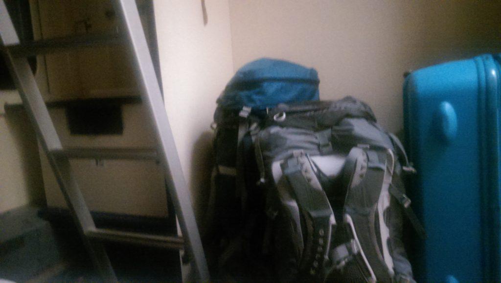 Luggage everywhere!