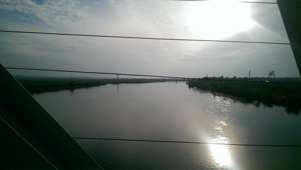 View from window of the Trans-Siberian