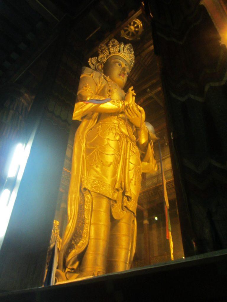 Buddhist Temple in Ulaanbaatar, Mongolia